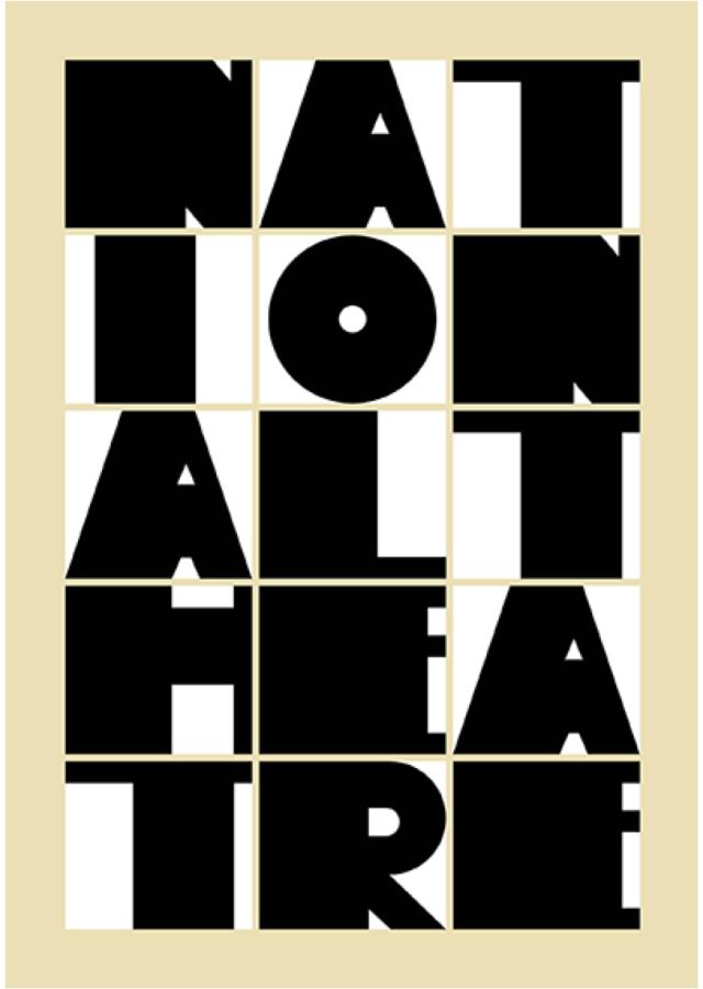 Poster design by Paula Scher
